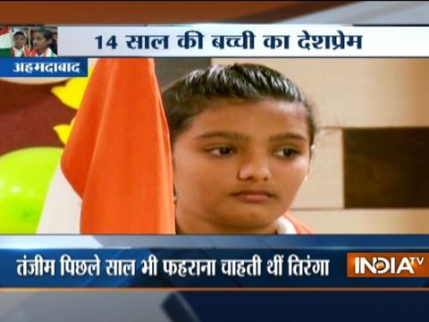 14-year-old girl Tanjim Morani vows to host national flag at Lal Chowk