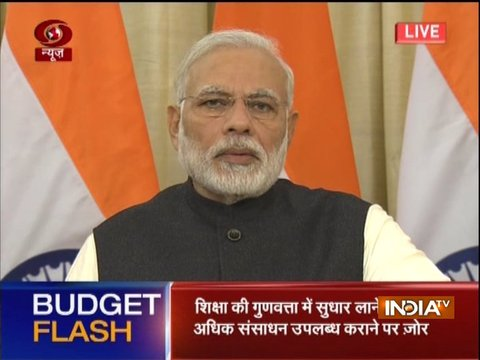 Arun Jaitley's Budget is for new India, common man: PM Modi on Union Budget 2018