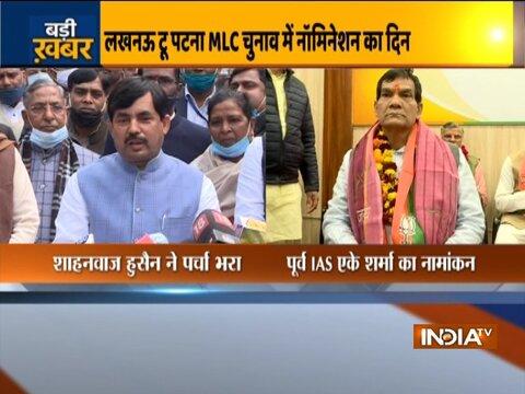 BJP names Shahnawaz Hussain as nominee for Bihar MLC polls