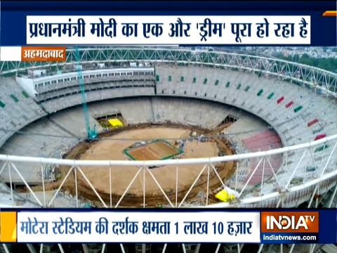 World's largest cricket stadium to open in Ahmedabad next month