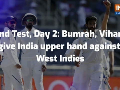 2nd Test: Bumrah hat-trick, Vihari ton help India dominate Windies on day two