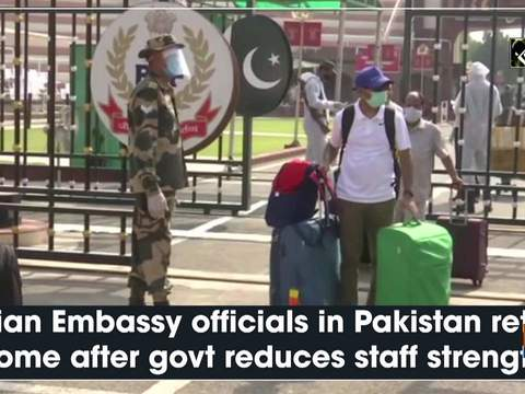 Indian Embassy officials in Pakistan return home after govt reduces staff strength