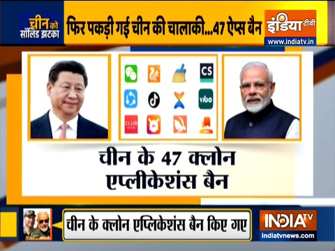 47 Chinese 'clone' apps banned in India
