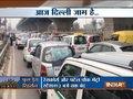 Traffic snarls in Delhi due to full dress Republic Day rehearsal