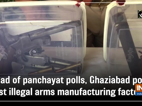 Ahead of panchayat polls, Ghaziabad police bust illegal arms manufacturing factories