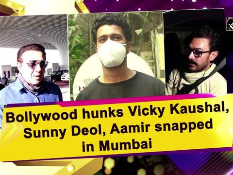Bollywood hunks Vicky Kaushal, Sunny Deol, Aamir snapped in Mumbai