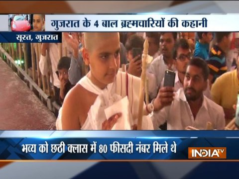 From aspiring CA to diamond merchant's son, whats driving youngsters to become Jain monk