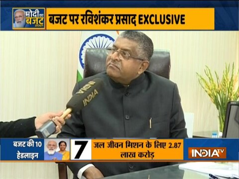 Union minister Ravi Shankar Prasad invites Rahul Gandhi in Parliament for discussion over Budget 2021