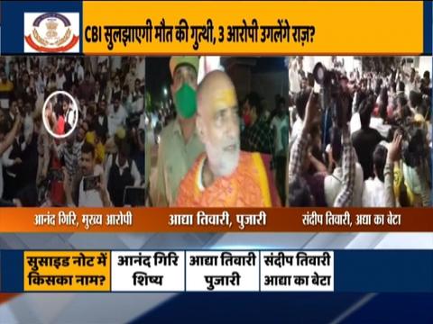 महंत नरेंद्र गिरि के मौत के मामले की जांच करेगी CBI, CM योगी ने की सिफारिश