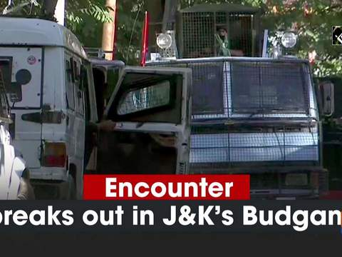 Encounter breaks out in Jammu and Kashmir's Budgam
