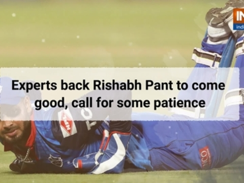 Experts back Rishabh Pant to come good, call for some patience