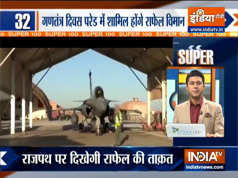 Super 100: Rafale to feature in Republic Day parade for first time