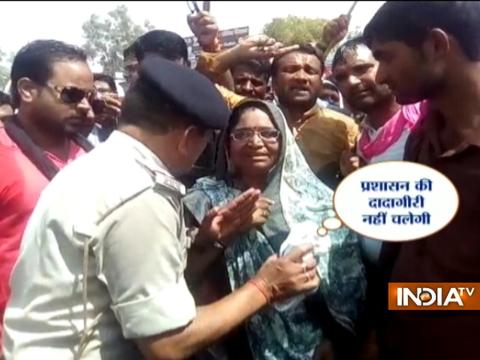 MP farmers protest: Congress MLA Shakuntala Khatik booked for instigating mob