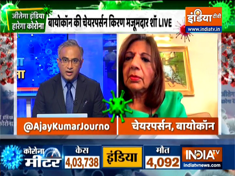 Jeetega India | 'Ramping up vaccine production is complex': Kiran Mazumdar Shaw, Chairperson Biocon