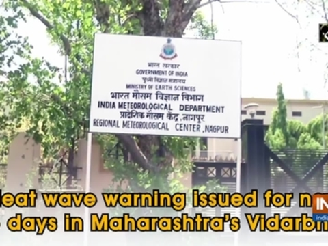 Heat wave warning issued for next 5 days in Maharashtra's Vidarbha