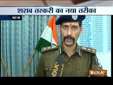 Bihar: Police seizes illicit liquor from Patna, nine held