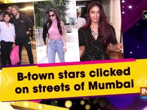 B-town stars clicked on streets of Mumbai