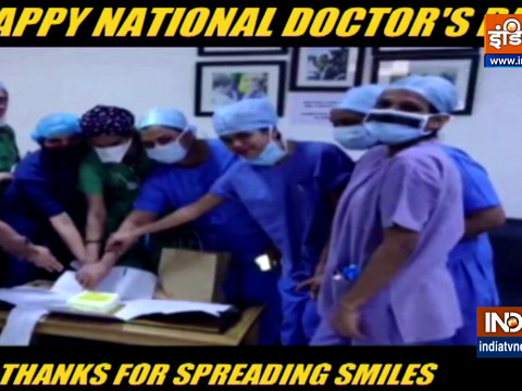 Happy National Doctor's Day: A token of appreciation for all the doctors for spreading smiles
