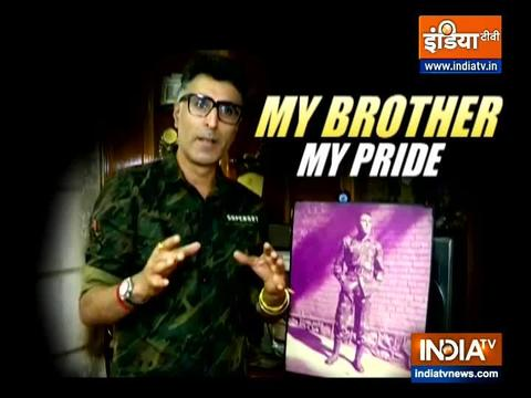 Vishal Batra remembers brother Captain Vikram Batra on Kargil Vijay Diwas