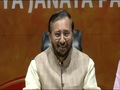 Prakash Javadekar hits back at Congress over Rahul Gandhi's 'Muslim party' remark