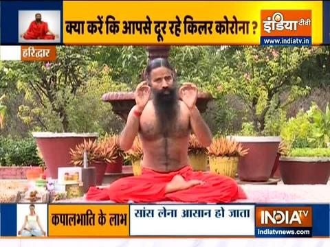 Swami Ramdev shares what should be done at home to protect yourself from COVID-19