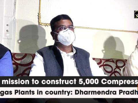 On mission to construct 5,000 Compressed Biogas Plants in country: Dharmendra Pradhan