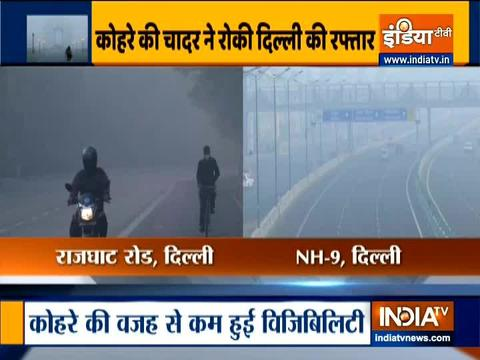 Delhi witnesses moderate fog today