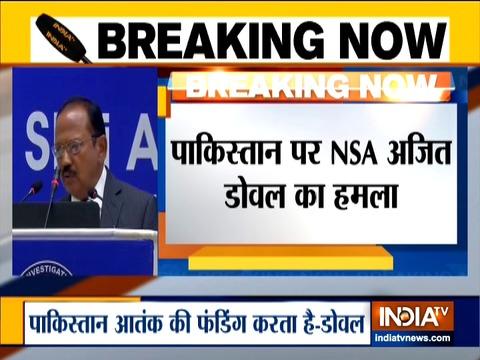 अजीत डोवल ने दिल्ली में एनआईए की बैठक में आतंकवाद से लड़ने के लिए 'थ्री पॉइंट फॉर्म्यूला' की रूपरेखा तैयार की