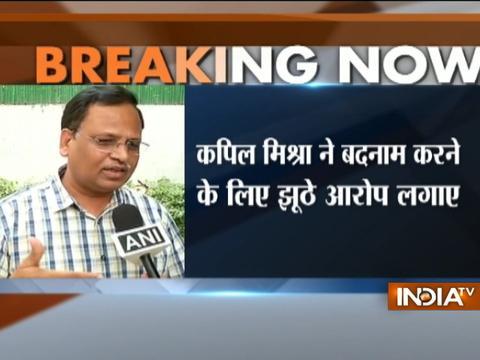 AAP leader Satyendra Jain rejects Kapil Mishra's allegation on himself