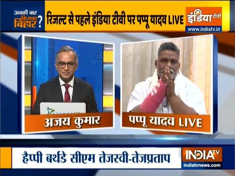 Watch: Pappu Yadav's exclusive interview ahead of Bihar election result 2020