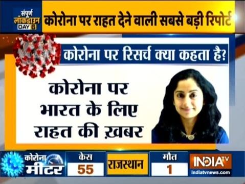 ब्रूकिंग्स इंडिया का दावा है कि कोरोना वायरस का ग्राफ 23 मार्च के बाद गया नीचे