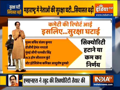 Politics over 'security downgrade' of leaders in Maharashtra escalates