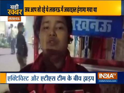 UP ATS arrests social activist's father in Lucknow