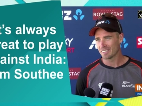 It's always great to play against India: Tim Southee