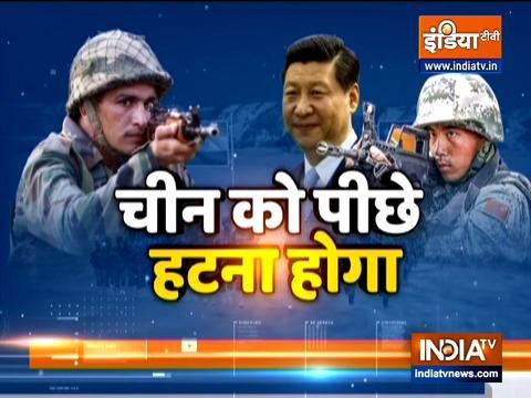 तनाव कम करने के लिए भारत और चीन के बीच हुई सैन्य स्तर पर बातचीत