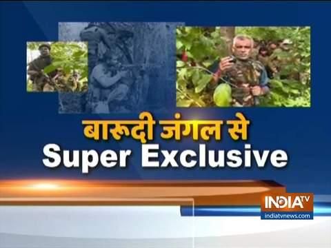 Naxal camp raided, destroyed in Chhattisgarh's Dantewada