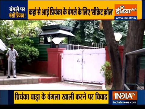 Priyanka Gandhi starts Twitter war over government bungalow