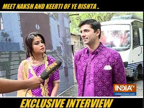 Meet Naksh and Keerti from the show Yeh Rishta Kya Kehlata Hai