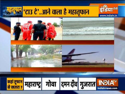 Cyclone Tauktae: Mumbai Airport shut from 11 am to 2 pm