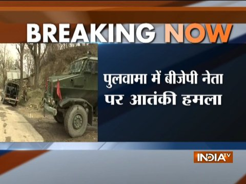 Terrorists attack BJP leader Anwar Khan in Jammu and Kashmir's Pulwama