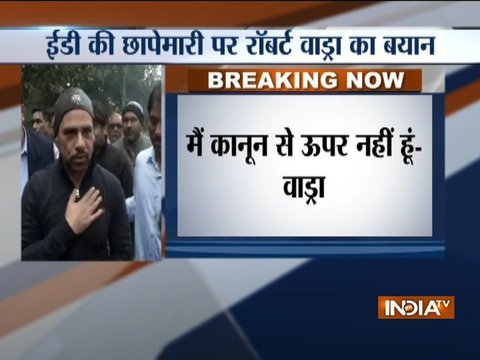 Charges against me are totally false & politically motivated, have replied to every notice: Robert Vadra