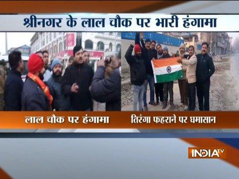 Shiv Sena accepts Farooq Abdullah's challenge, send team to hoist tricolor at Lal Chowk, Srinagar