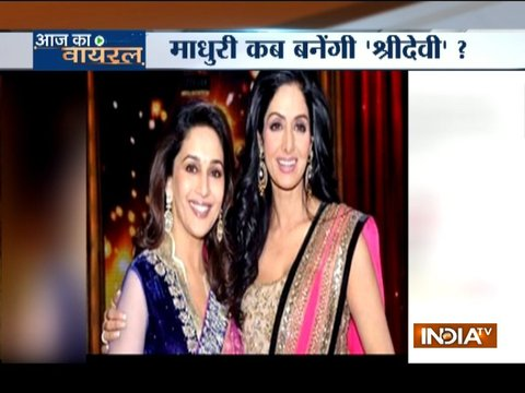 Aaj Ka Viral: Madhuri Dixit to replace Sridevi in Karan Johar's film