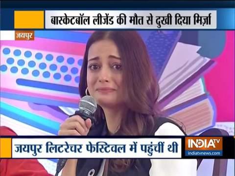जयपुर लिटरेचर फेस्टिवल में फूट-फूटकर रोई दिया मिर्जा