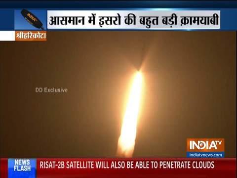 पृथ्वी की बेहतर निगरानी के लिए ISRO ने लॉन्च किया RISAT-2बी उपग्रह