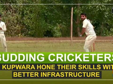 Budding cricketers in Kupwara hone their skills with better infrastructure