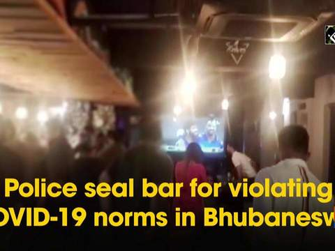 Police seal bar for violating COVID-19 norms in Bhubaneswar