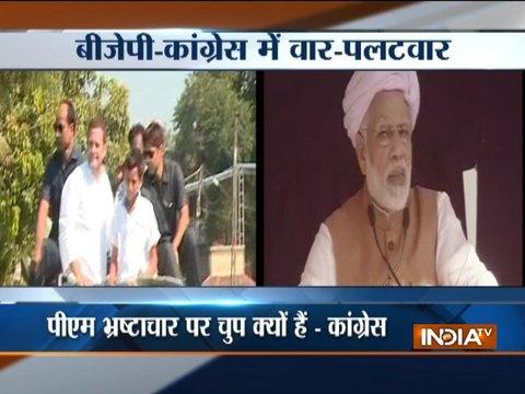 Gujarat polls 2017: This is how PM Modi took on Congress in his mega rallies
