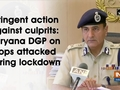 Stringent action against culprits: Haryana DGP on cops attacked during lockdown
