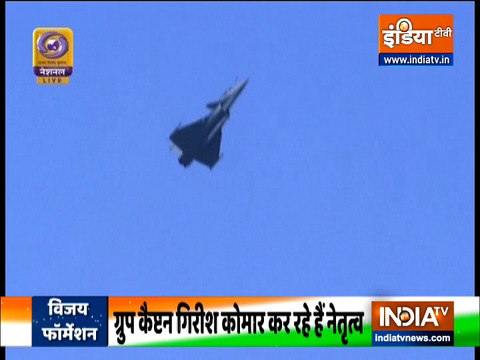 Republic Day 2021: Culmination of R-Day parade with Rafale aircraft